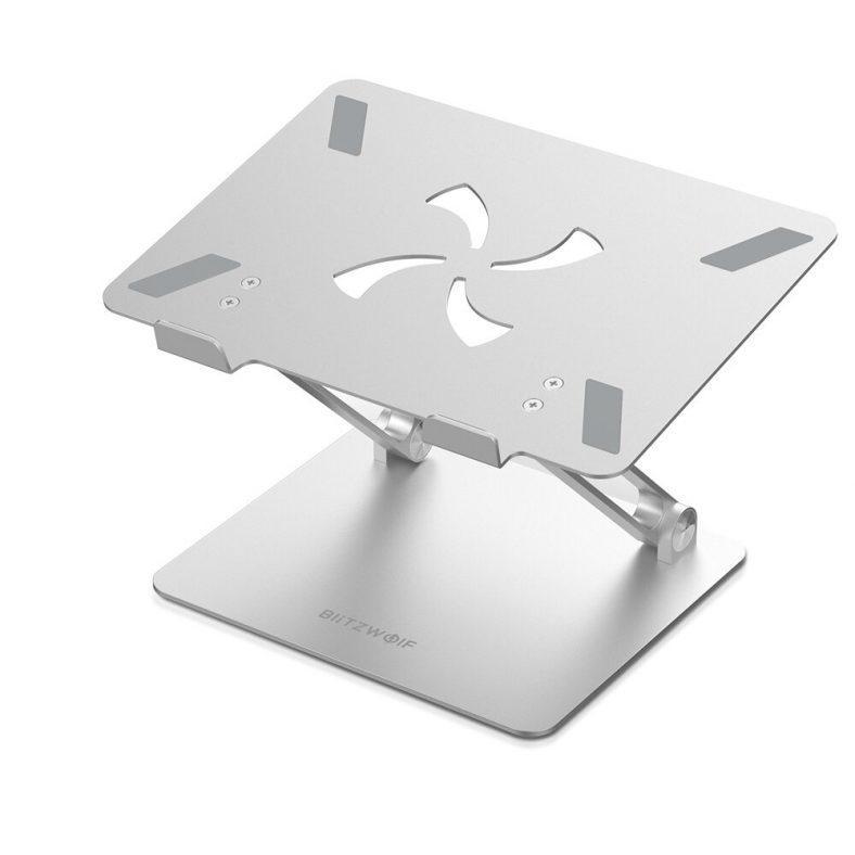 [EU stock - CZ] BlitzWolf BW-ELS4 Laptop Stand Bracket Foldable Aluminum Alloy Laptop Stand Heat
