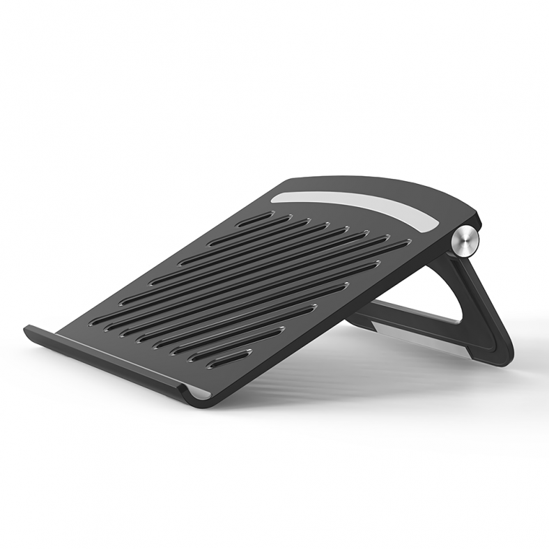 Foldable Laptop Stand Holder Notebook Cooling Bracket Riser Cooling Pad Game Notebook Base for up to 17inch Notebook