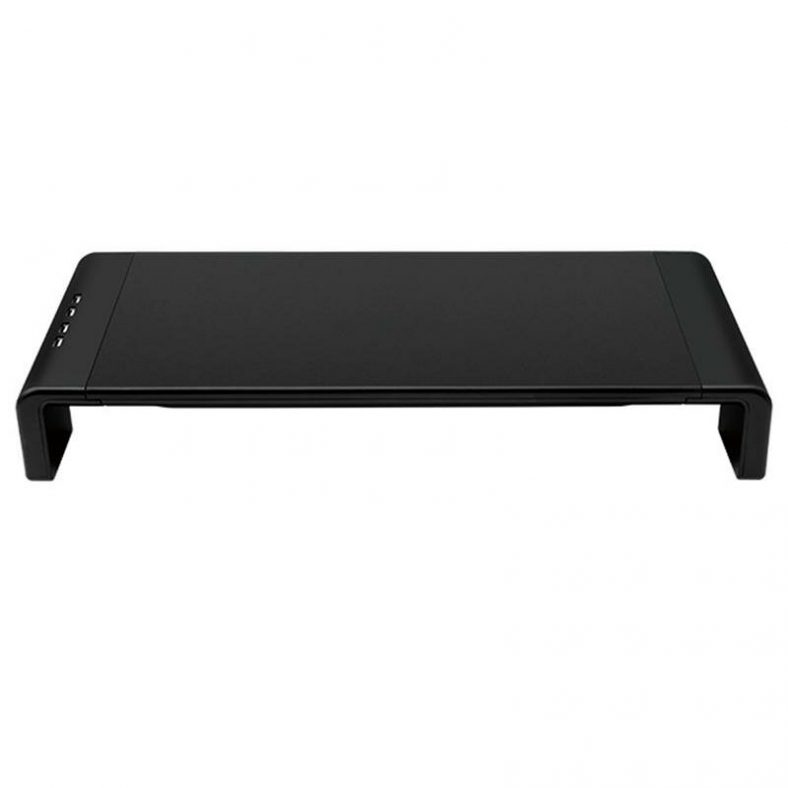[EU stock - ES] Multi-Function Laptop Stand Computer Screen Riser Monitor Stand USB 2.0 Charging